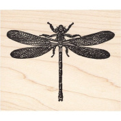 Dragonfly Large Rubber Stamp