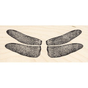Dragonfly Wings Rubber Stamp