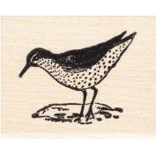 Sandpiper Rubber Stamp Bird