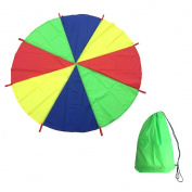 AZlife 2m Play Parachute with 8 Handles