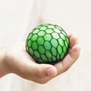 Hofumix Grape Stress Ball Anti Stress Face Reliever Grape Ball Topseller Mesh Ball 1Pcs Random Colour