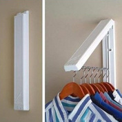 VIPASNAM-StainlessFolding Wall Hanger Mount Retractable Indoor Waterproof Clothes Rack To