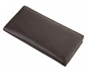 Men's long genuine leather wallet, multi card design high-grade quality