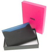 BOXSET WOMEN WALLET LEATHER + PLIERS TICKETS + MAGNIFIER + BOX GIFT - NOEL - FETE MOTHERS - ANNIVERSARY - CARDS AND MINT - colours TO CHOOSE