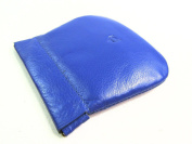 Ladies Mens Womens Premium High Quality Real Leather Wallet Purse Coin Pouch Snap Top