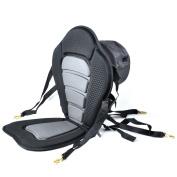 iGuerburn Adjustable Padded Kayak Seat Boat Seat With Detachable Canoe Backrest Seat Bag