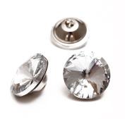 Crystal Rhinestone Diamante Embellishments Headboard Decorative Craft Buttons 18mm