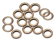 "CRAFTMEmore 3/8"" (10MM) Hole 100 Sets Grommets Eyelets with Washers for Clothes, Leather, Canvas"