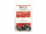 ZipperStop Wholesale Distributor YKK Zipper Repair Kit Solution, YKK #5 Moulded Reversible Fancy Pulls Vislon slider Made in USA - 3 Pulls Per Pack