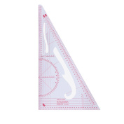 Doober Multi-function Triangular Scale Ruler Measure Plastic Dressmaking Tailor Sewing