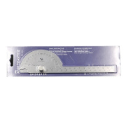 Measuring Tool, UMFun Stainless Steel 180 degree Protractor Angle Finder Arm Measuring Ruler Tool
