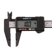 Measuring Tool, UMFun DIY 150mm/6inch LCD Digital Electronic Carbon Fibre Vernier Calliper Gauge Micrometre