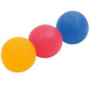 Fine-toned® 3 x Gel Hand Therapy Exercise Balls - Firm/ Medium /Soft- plus FREE EXERCISE CHART and instructions- LIFETIME GUARANTEE!!!