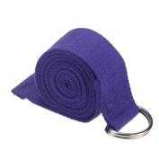 Koly® Yoga Stretch Strap D-Ring Adjustable Belt Waist Leg Fitness 180CM