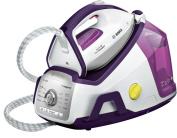 BOSCH TDS8040GB Serie 8 ProHygienic Steam Generator, 2400 W, 7 Bar, White/Purple