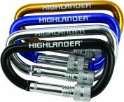 Highlander Screwgate 24 Karabiner - Assorted colours