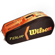 Wilson Burn Moulded 9PK BKOR Racquet's Backpack - Multi-Colour