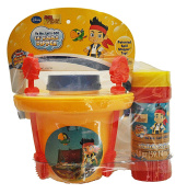 "Super Miracle Bubbles No-Spill ""Lil Bubble Dipper"" Jake The Pirate Pail Kit"