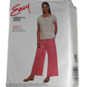McCall's Stitch 'n Save 3077 Misses Top and Drawstring Pants Size B L(16-18),XL