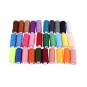 Awakingdemi Sewing Threads,30 different Colours 250 Yard Polyester Embroidery Sewing Machine Threads