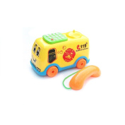 Transer® Toys for Kids - Music Cartoon Bus Phone Pretend Play - Children Learning Education Developmental Toy Gift New 2017