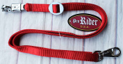 Trailer Tie Horse Trailer Tie Lead Panic Trigger Bull Snap Red 40407