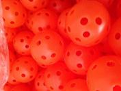 100 JL Golf Airflow practise balls - Choose Colour