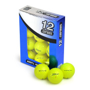 Second Chance Titleist DT Solo Grade A Premium Lake Golf Balls (Pack of 12) - Yellow