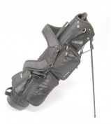 Legend Milano 15cm Golf Stand Bag - Black
