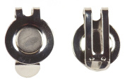2 x Super Strong Magnetic Hat Clips by Mercia Golf.
