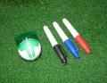 Multi-Templates Golf Ball Line Marker with 4 Pieces Permanent Ink