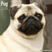 Pug Calendar 2018