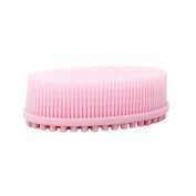 Silicone Bath Brush Soft Head Massage Shampoo Body Cleansing