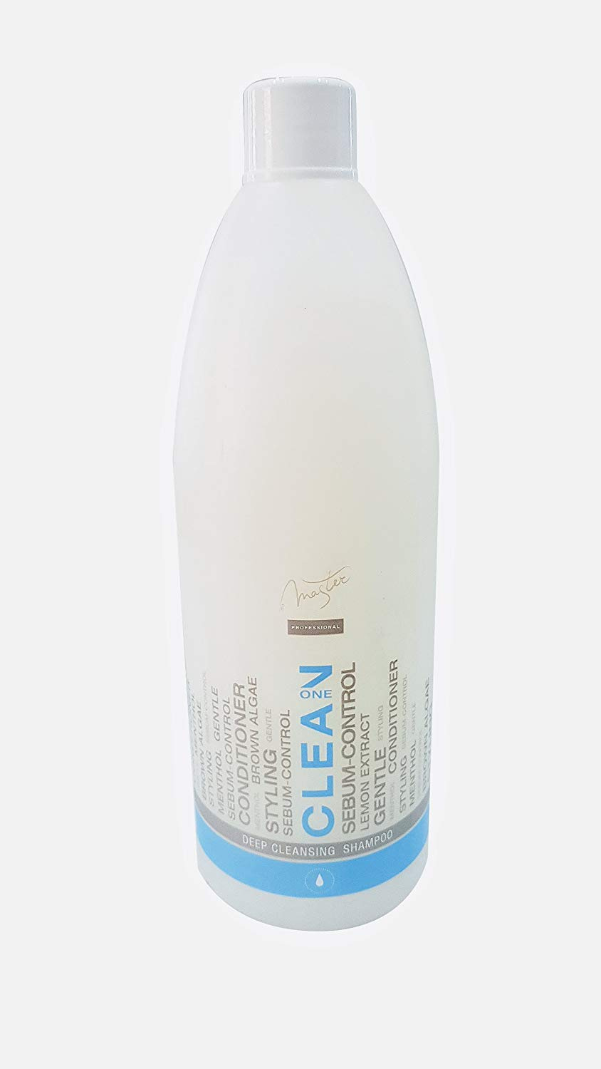 Spa Master – Professional Deep Cleansing Shampoo with Menthol, Lemon and  Seaweed, Oily Hair