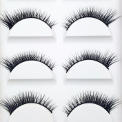 VanMe 5 Pairs Of The End Of The Eye With A Long Section Of The Black Section Of The Black Hair On The Eyelashes