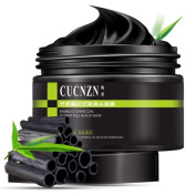 CUCNZN New Black Deep Cleansing Purifying Blackhead Pore Removal Peel-off Facial Mask For Oily Skin Strawberry Nose,155g