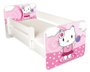 TODDLER BED WITH FREE MATTRESS NEW DESIGN Kitten 62