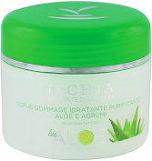 "ISB - CLEANSING AND moisturising FACIAL SCRUB ""Aloe Bio"" 3, 120ml - With Aloe Vera and Thermal Water of Ischia Island"