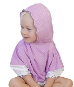 Baby Comfy Care Child's Sun Poncho, 4 to 7 Years, Polka