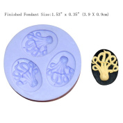 LC Octopus X074 Fondant Mould Silicone Sugar Resin mould Craft Moulds DIY Cake Decorating