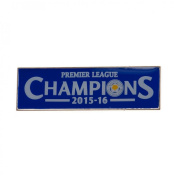 Leicester City Champions Pin - Blue
