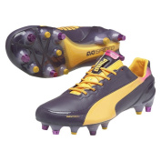 Puma EvoSpeed 1.2 L Mixed SG Football Cleats Black