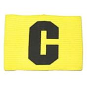 Senior Precision Training Big C Captains Armband Yellow