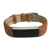 Leather Bands Strap for Fitbit Alta and Fitbit Alta HR Replacement Wristband Accessory Band
