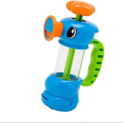 JUNGEN Bath Toy for Children Water Play Toy Water Suction Pump Sprinkler Sea Horse 3-6 Years Old