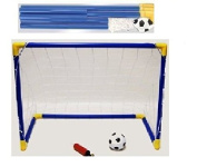 Children Mini Soccer Football Goal Post Sports Soft Ball Set Baseline Indoor & Outdoor Use