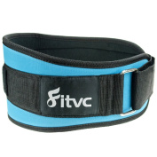 FITVC Weight Lifting Belt - 15cm High Performance Heavy Duty Core Weightlifting Back Support