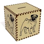 Large 'Pug Dog' Money Box / Piggy Bank