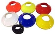 Football Rugby Hockey Training Aid Coaching Mini Space Markers/cones Set Of 70