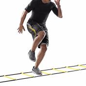 Novatech Agility Ladder Speed Ladder 6M 12-Rung for Football Speed Training